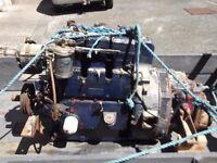 Reduced 30hp Diesel engine inboard motor with marine gearbox