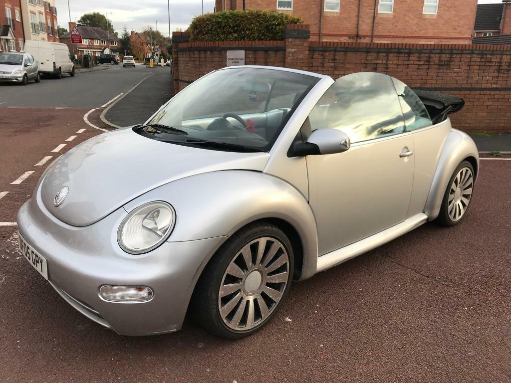 2005 Volkswagen Beetle Convertible 1 6 Sevice History Long Mot 2000