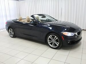 2015 BMW 4 Series 428i x-DRIVE CABRIOLET HARD TOP CONVERTIBLE w/