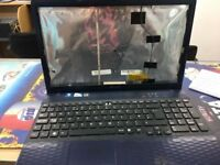 SONY VAIO PCG 71911M / WORKING BUT MINOR ISSUES / SELLING FOR PARTS