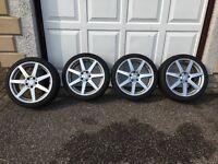 Mercedes AMG Alloy Wheels & Tyres