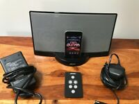 BLACK BOSE SOUNDDOCK SERIES 1 + 32Gb Ipod Touch 3rd Gen + Remote + POWER SUPPLY