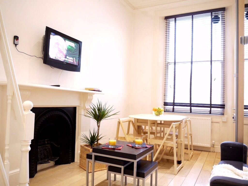 **AMAZING FLAT ** All Bills & Wi-Fi, Notting Hill Gate, Short Let, Central London