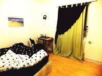 SPACIOUS DOUBLE Room in Mile End, Bethnal Green, Roman Road, Bow, Victoria Park, E3