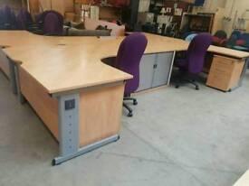 Large corner office desks (lots available)