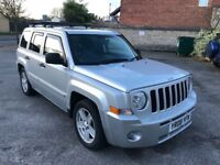 2008 JEEP PATRIOT 2.0 CRD SPORT 4X4 113.000 MILES MOT. 03/2019 EXCELLENT CONDITION