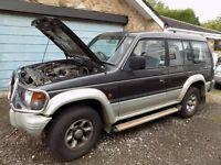 Mitshubishi Shogun V6.24 LWB Auto 3.497cc Petrol & LPG GAS 1995 - SPARES OR REPAIRS