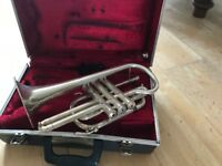 Barretts of Manchester Silver Cornet