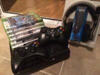 Xbox 360 console bundle (very good condition)