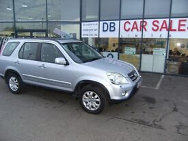 4X4!! 2005 55 HONDA CR-V 2.0 I-VTEC SPORT 5d 148 BHP **** GUARANTEED FINANCE **** PART EX WELCOME