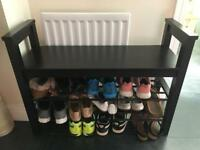 Shoe Bench Storage