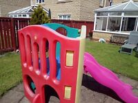 Little Tykes Climbing Frame with Slide. Will Need Dismantled