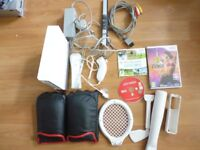 Wii Console + Sports Pack, Just Dance & Zumba