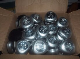 Box of push lights