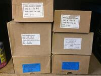 Large selection of zinc plated machine screws