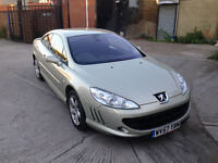 2007 PEUGEOT 407 2.0 HDI COUPE SPORT MANUAL LONG MOT