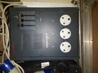 Zero 88 - Stage Lighting Dimmer - 3 way - Plus Cables