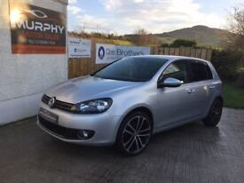 Late 2012 Volkswagen Golf gt tdi 140 Finance available