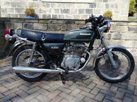 1979 Kawasaki z200, low mileage. Cheap restoration project.