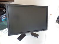 "DELL LCD BLACK 19"" MONITOR"