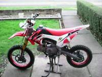 WPB race 125cc pitbike