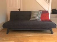 Grey sofa bed - from Made, like new