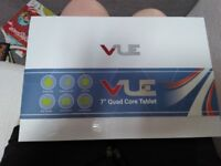 """Brand New in box Vue 7"""" quad core tablet."""