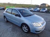 TOYOTA COROLLA 1.6 2005 BREAKING FOR SPARES TEL 07814971951 HAVE FEW IN STOCK