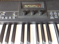 Yamaha CP50 Stage Piano - 88 keys with fantastic weighted hammer action. Includes Fusion gig bag!