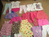 Large bundle of 4-5 girls clothes