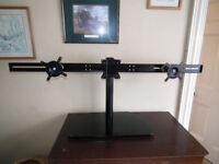 Triple monitor disply stand - Ergotron