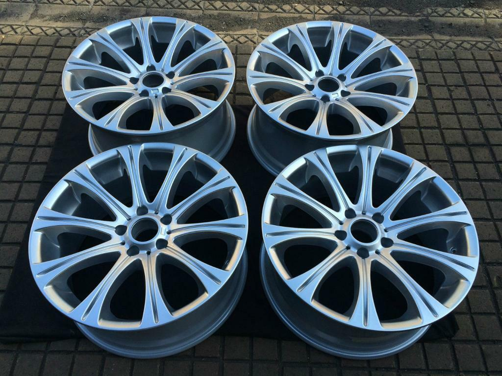 bmw 5 series e60 style 166m 4 x 19 m5 replica refurbished alloy wheels in hampstead london. Black Bedroom Furniture Sets. Home Design Ideas