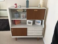 Retro 70s tall sideboard wall unit