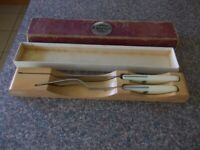 Vintage Prestige hollow ground cutlery very good condition