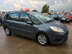 Late 2008 Citroen Grand C4 Picasso 7 Seater 1.6 HDI Diesel **Low Mileage** (sharan,zafira,scenic)