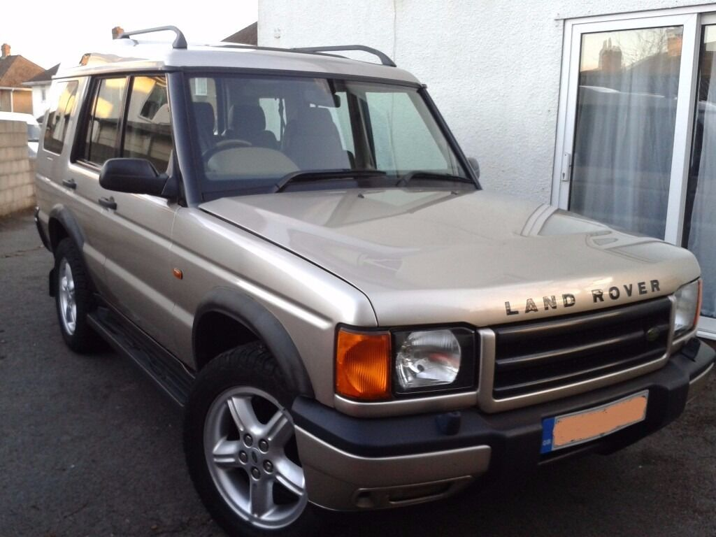 land rover discovery td5 xs 2 5l manual diesel 2002 gold. Black Bedroom Furniture Sets. Home Design Ideas