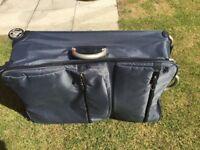 Lightweight 2 wheel soft suitcase