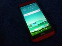 HTC One M8 - 16GB - Red (O2) - Boxed