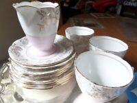 Teacups, Saucers, Teaplates. Phoenix Bone China