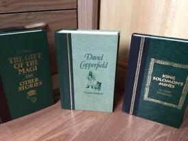 Hardback books x 3