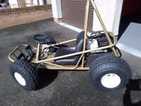 Off road go-cart suitable for children and small adults