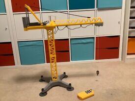 Remote controlled crane