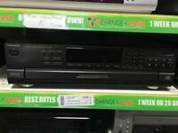 Technics SL-PD6 5 disc CD changer remote