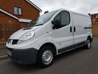2010 60 RENAULT TRAFIC 2.0 CDTI 6 SPEED SAT NAV DCI ECO SAME AS VIVARO MAY CONSIDER RECOVERY TRUCK