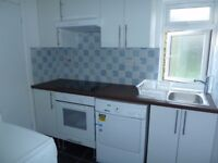 Amazingly large studio flat. Separate shower room. Full kitchen. Great for public transport.