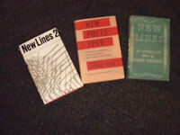 Poetry books: New Lines: 3 collections that heralded The Movement poetry in late 1950s/early 60s