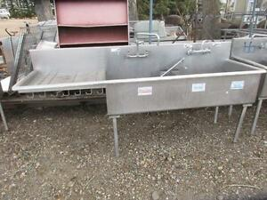 Have a selection of USED Stainless Steel Sinks /Taps/ Carts Prices Vary
