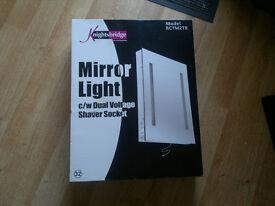 Bathroom Mirror Light Knightsbridge brand new unused still in box