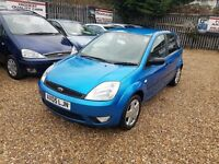 2005 Ford Fiesta 1.4 TD Zetec Climate a small diesel car