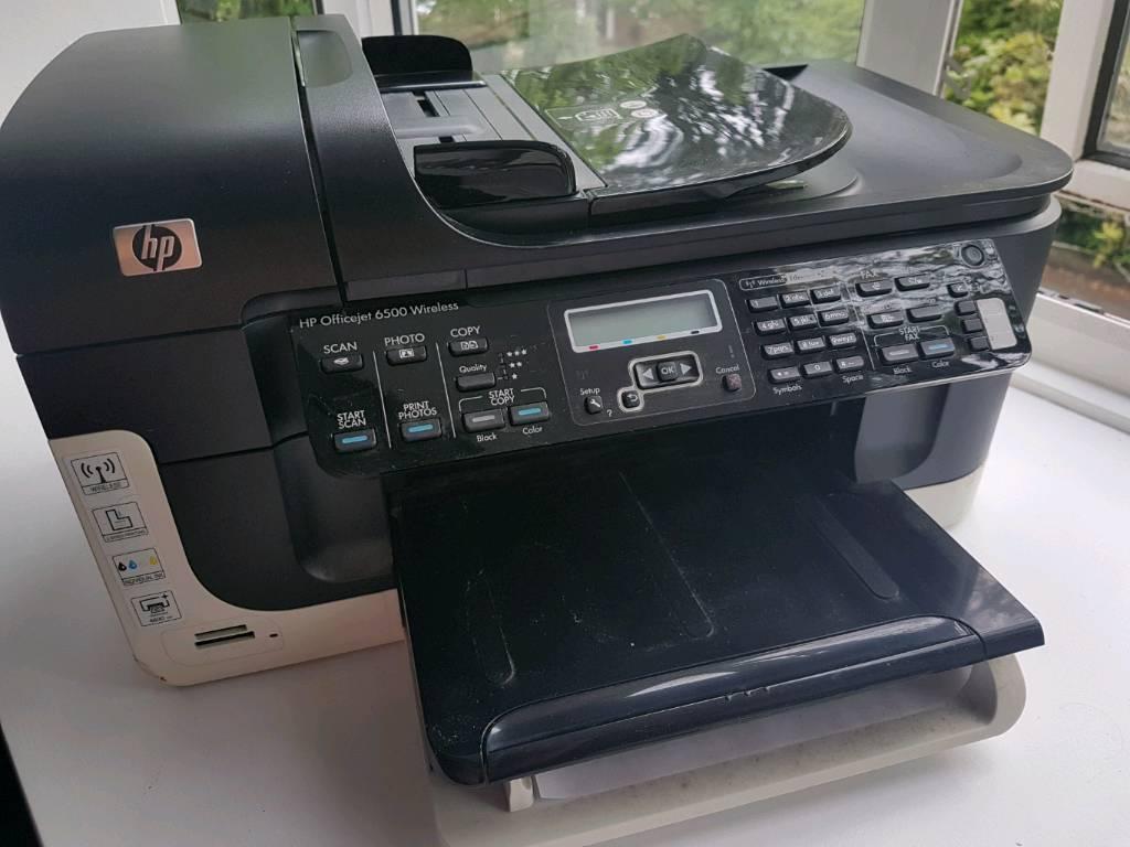 HP Officejet 6500 Multifunction Wireless Printer